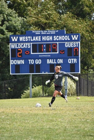 Westlake goalkeeper Riley Neglia was voted the lohud girls soccer Player of the Week on Sept. 10, 2019.