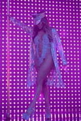 """Jennifer Lopez says her character's jaw-dropping pole dance in """"Hustlers"""" wasn't originally in the script, so she added it. """"She's supposed to be the best in the club, and we've got to see why she's the best."""""""