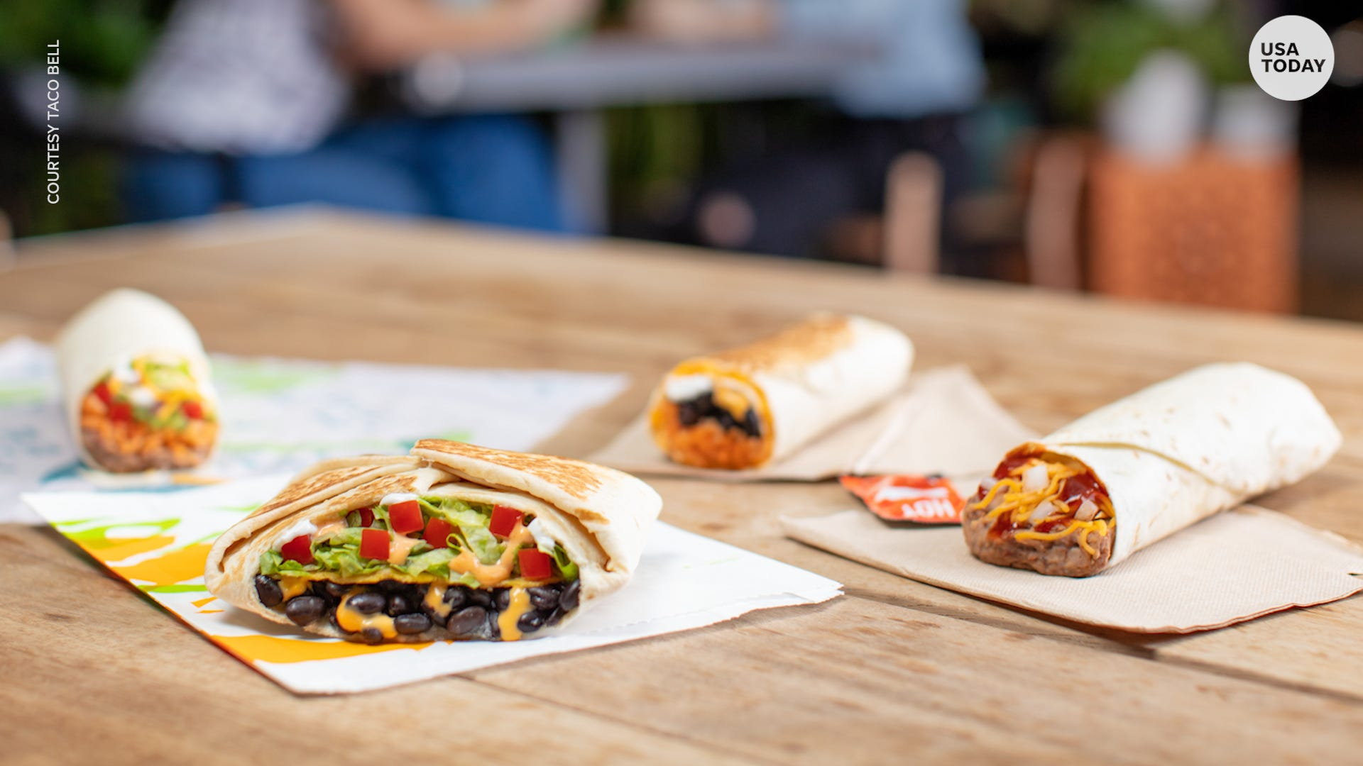 photograph relating to Taco Bell Printable Application titled Taco Bell rolls out clean 13-products vegetarian menu national