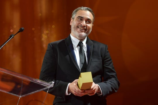 "Joaquin Phoenix receives the TIFF Tribute Actor Award for ""The Joker"" and gives a killer speech."