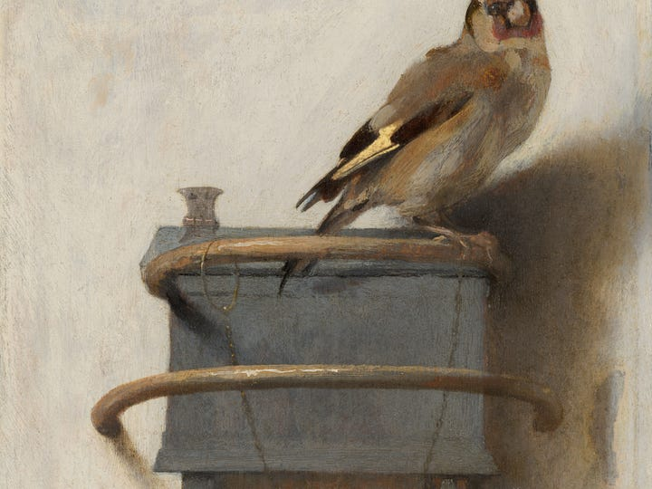 """The Goldfinch"" painting is central to the novel of the same name, which is now a movie."