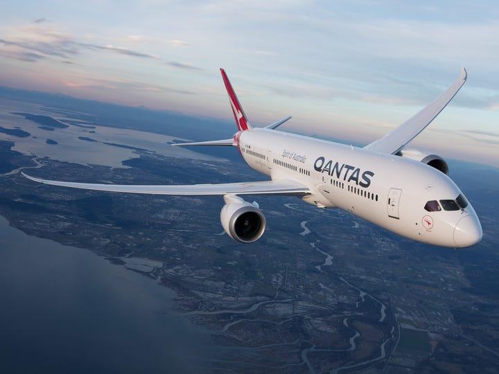 Qantas Dreamliner Quokka aircraft