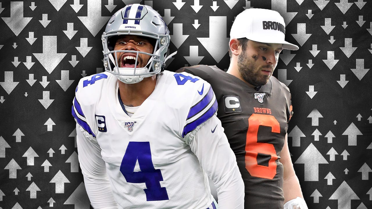 low priced 46d29 829ca NFL Power Rankings: Cowboys rise, Browns tumble