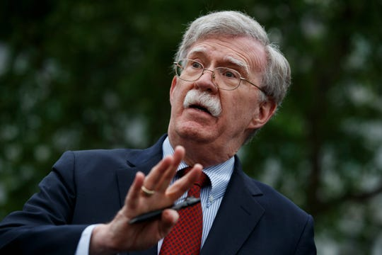 Former national security adviser John Bolton
