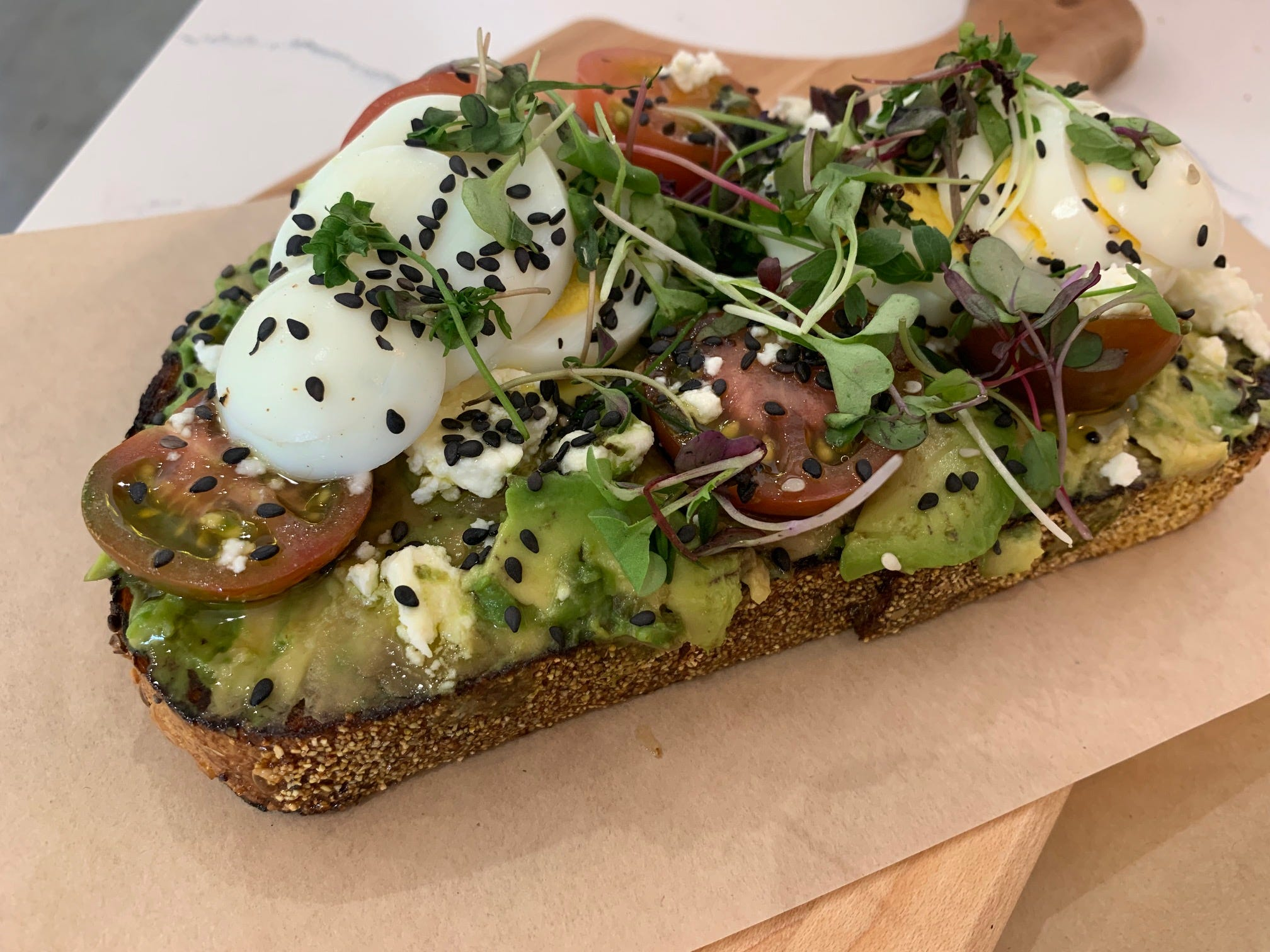 Who needs guacamole? 10 great places that elevate avocado toast