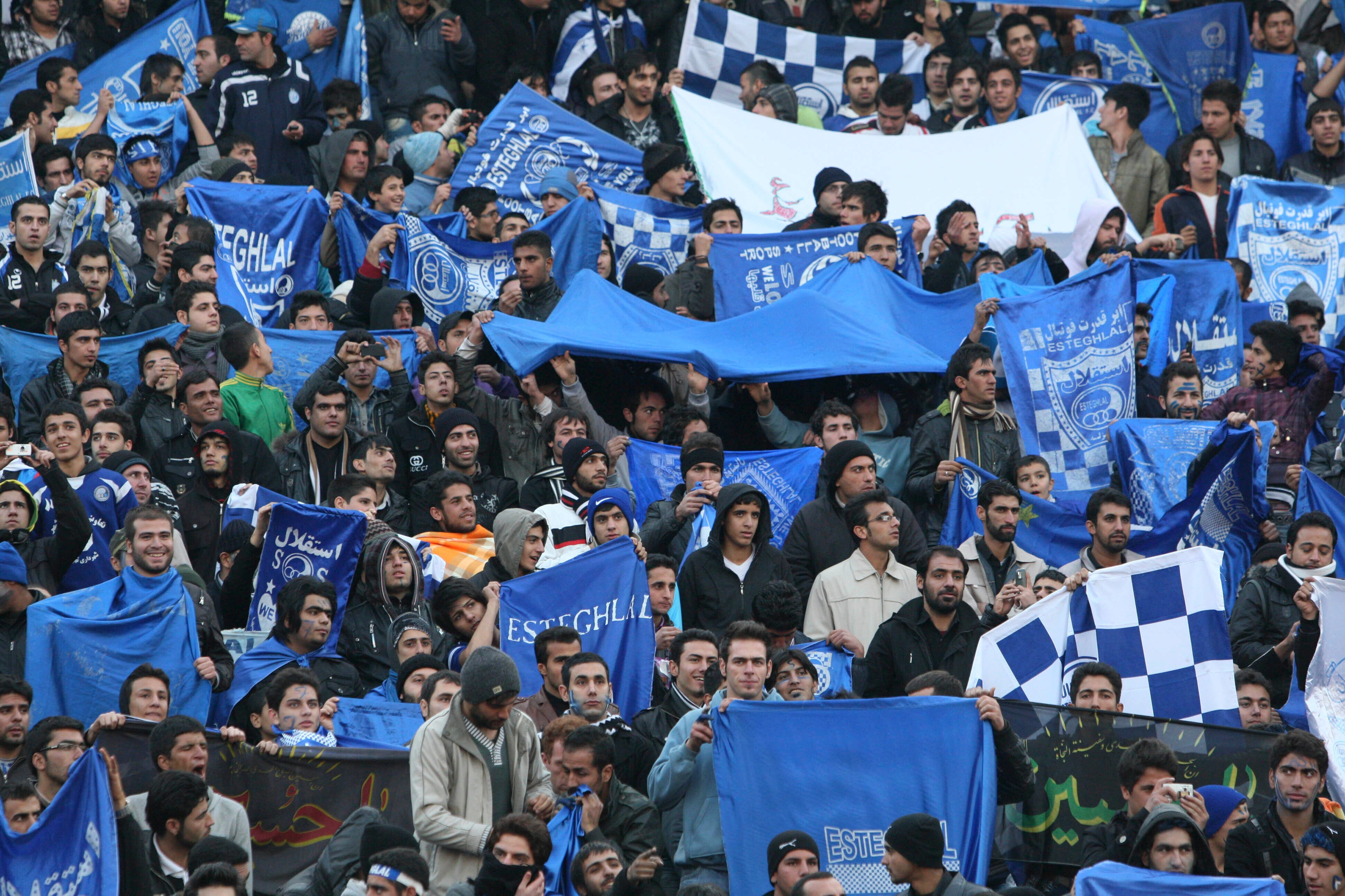 Female fan caught sneaking into Iranian soccer match, dies after setting herself on fire
