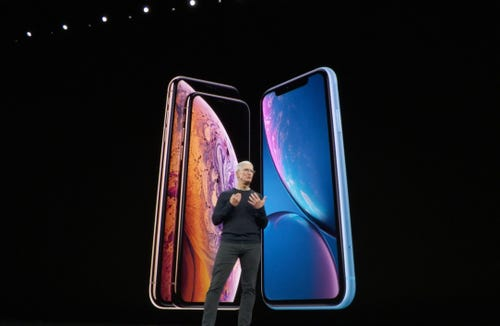 Apple CEO Tim Cook promises more entertainment offerings.