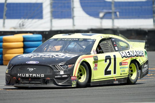 Paul Menard has driven the No. 21 Wood Brothers Ford since 2018.