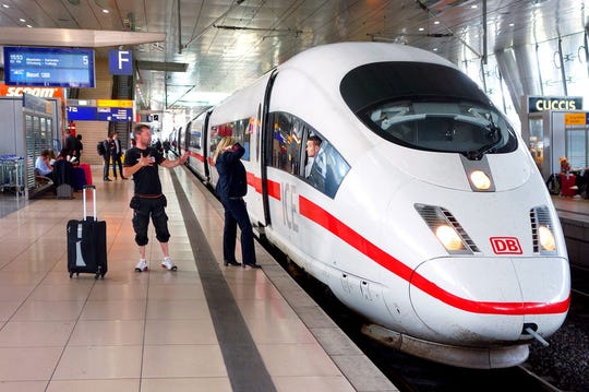 Travelers can hop on and off Germany's sleek InterCity Express trains easily with either a Eurail Global Pass or a German Rail Pass.