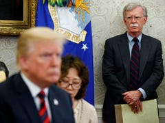 John Bolton is gone and good riddance. He was pushing Trump away from peace and diplomacy.