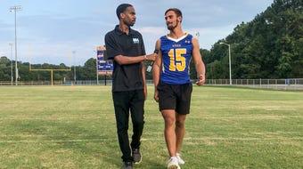 Wren senior Tyler Cherry talks growth as a receiver, outdoor hobbies and impressive 4.1 GPA.