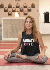 Mary Ansell, owner of Open Heart Yoga in Red Bank