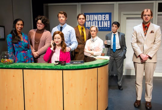 """The Office! A Musical Parody"" will present one performance at the Elmira Clemens Center on Wednesday."