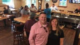 Owners Ruchel and Tony St. Hilaire want their new bar/restaurant to be a place where people sit and chat and get to know each other