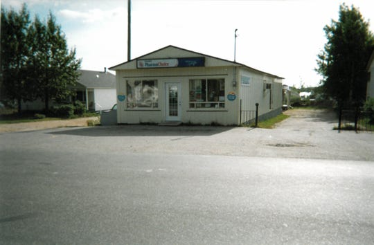 The general store where Prasser purchased the birthday card and the disposable camera with which he took these photos.