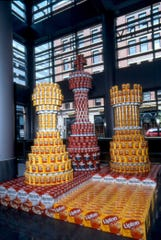 The Weston Art Gallery is a perennial host location for the annual Cincinnati Canstruction competition held each spring. This picture is from 2004.