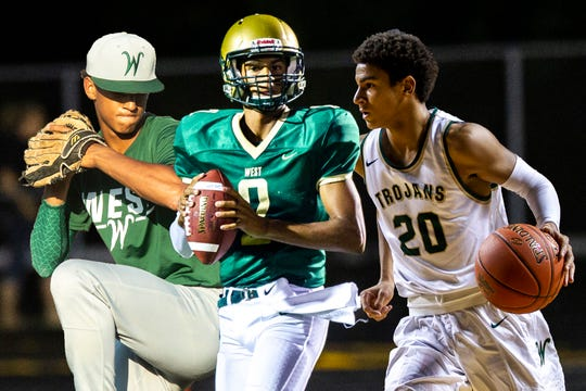 Iowa City West standout Marcus Morgan is a target for the class of 2021.