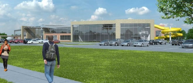 Ames residents voted down this proposed Healthy Life Center Tuesday. Project organizers say they are not planning to bring a similar project to the  public again.