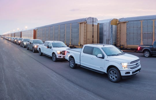 Ford's all-electric F-150 will come in addition to the all-new Ford F-150 Hybrid, which goes on sale next year.