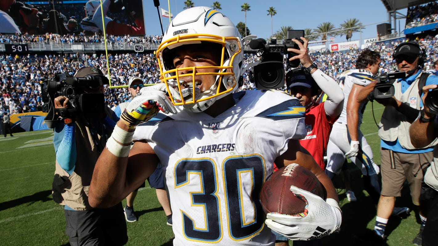 Chargers' ground game doing just fine without Melvin Gordon