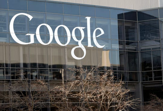 FILE - This Thursday, Jan. 3, 2013, file photo shows Google's headquarters in Mountain View, Calif.  Two bipartisan groups of state attorneys general are launching separate antitrust investigations into Facebook and Google, Friday, Sept. 6, 2019, adding to regulatory scrutiny of two of the world's largest and most ubiquitous tech companies.