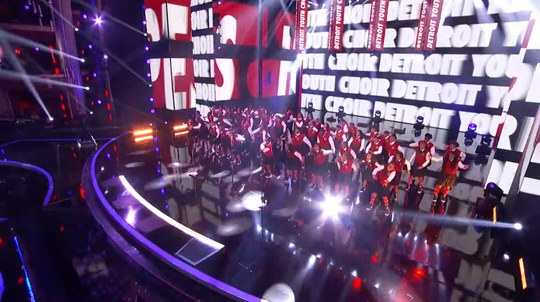 "The Detroit Youth Choir sings ""High Hopes"" by Panic! At The Disco in the ""America's Got Talent"" semifinals on Tuesday, Sept. 10, 2019."