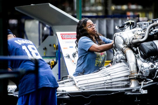 The Flint Assembly Plant, which builds heavy-duty pickups, is among five GM plants where UAW-represented Aramark custodial workers are employed.