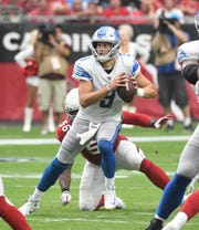Lions quarterback Matthew Stafford says he's not dwelling on a controversial timeout call in Sunday's tie with the Cardinals.