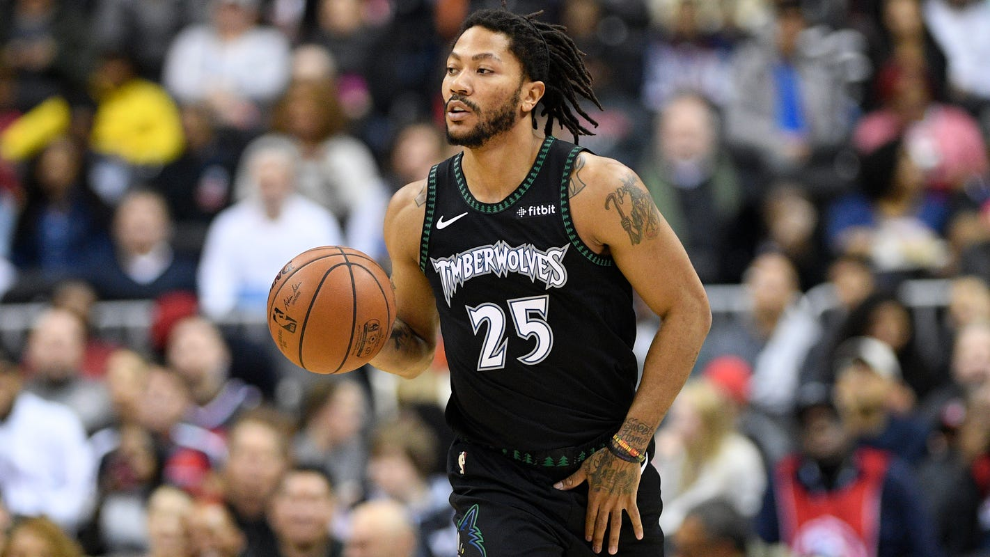 Beard: Derrick Rose has lofty goals for Pistons, but health should be top priority