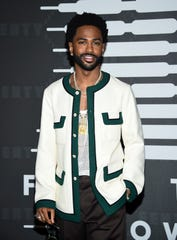 Rapper Big Sean attends the Spring/Summer 2020 Savage X Fenty show, presented by Amazon Prime, at the Barclays Center on Sept, 10, 2019, in New York.