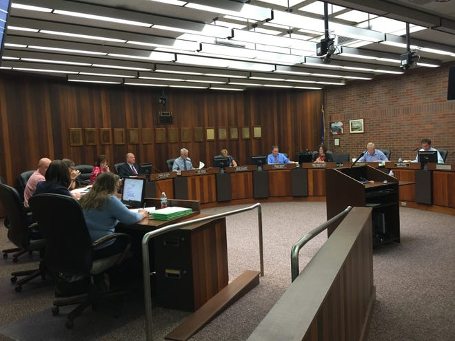 The Vanderburgh County Council discussed its 2020 budget and other items on Wednesday at the Civic Center.