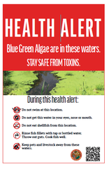 The Department of Health in Florida has started posting algae warning signs.