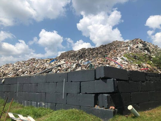 DHEC officials estimate that about 117,000 cubic yards of debris will remain at the Able Contracting site when the EPA leaves and DHEC will have the funds to bring the pile down to 25,185 cubic yards. According to an estimate from DHEC Director of Environmental Affairs Myra Reece, this will cost the agency $3,548,000.