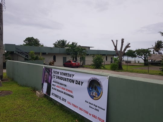 Southern Christian Academy in Agat, shown on Sept. 11, 2019, will host up to 16 men for the Guam REStoration project, which seeks to help single, homeless men get recovery, education and shelter to help get them back on their feet.