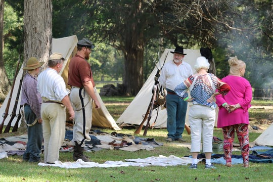 History buffs will enjoy Carrollton's Historic Pilgrimage and Pioneer Day Festival Oct. 4-5.