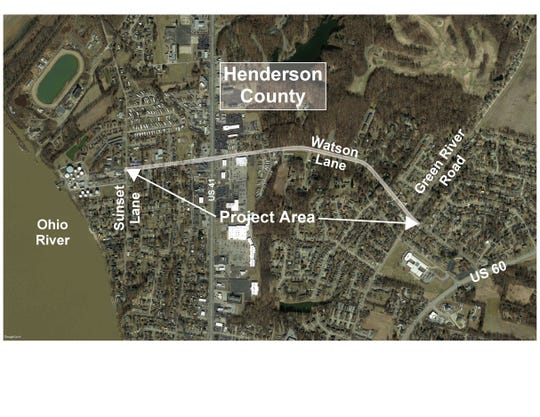 Major work is being planned for Watson Lane from Sunset Lane to Green River Road.