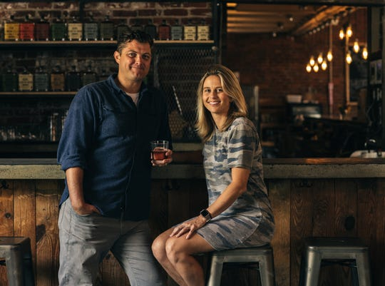 Travis and Hilary Barnes are co-founders of Hotel Tango Artisan Distillery.