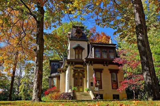Pictured is the Benton House, a historic home in the Irvington community located at 312 S. Downey Ave., Indianapolis.