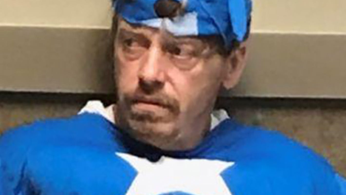 'Captain America' charged with burglary in Mississippi