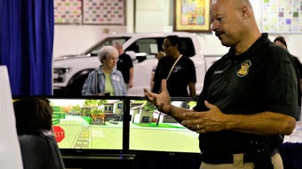 Patrons of the West Tennessee State Fair participated in drunk and distracted  driving simulations intended to deter the practices.