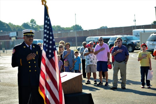 The Jackson Fire Department held a 9/11 Commemoration Ceremony to honor those who lost their lives 18 years ago on Sept. 11, 2001.