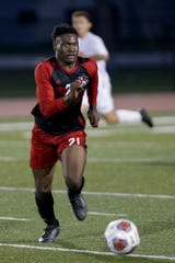 Marvens St. Felix scored two goals in Lafayette Jeff's win over Kokomo on Tuesday.