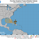 Tropical system expected to strengthen, enter Gulf of Mexico this weekend