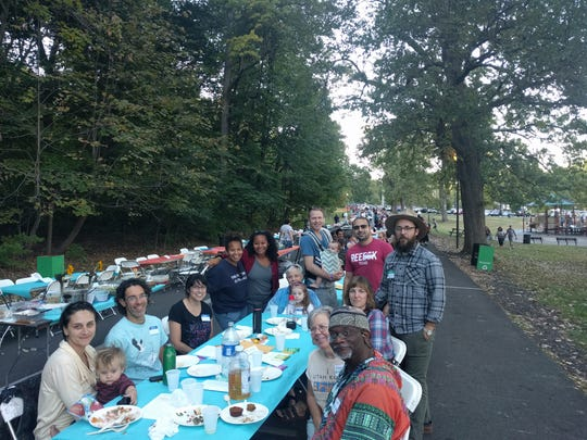 People from all over the area showed up to Big Table last year, a potluck in Iroquois Park that welcomes Louisvillians to share a cultural exchange through food and conversation. The event is returning to Iroquois Park on Sunday, Sept. 15 from 5-7 p.m.