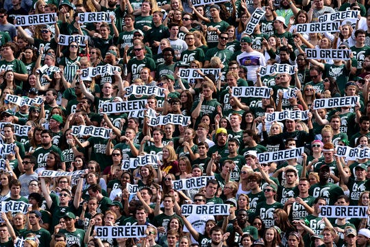 '(Expletive) you!' chants at MSU's Spartan Stadium concern ...