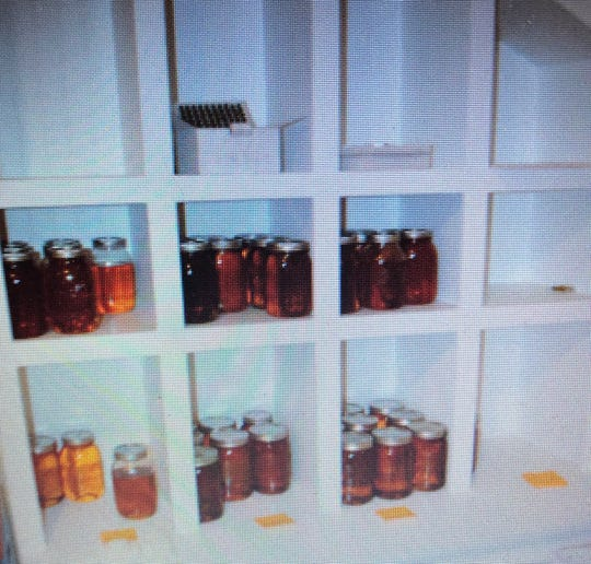 Jars of THC oil were seized in a raid in Kenosha County. Each jar is reportedly worth $6,000.