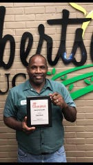 Carry Amos, who works for Robertson Produce in Monroe, is the  2019 Chick-Fil-A National Driver of the Year.