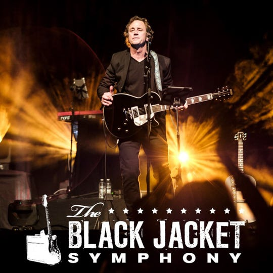 """The Black Jacket Symphony returns to Montgomery Performing Arts Centre on Saturday to recreate the Eagles' """"Hotel California"""" live on stage."""