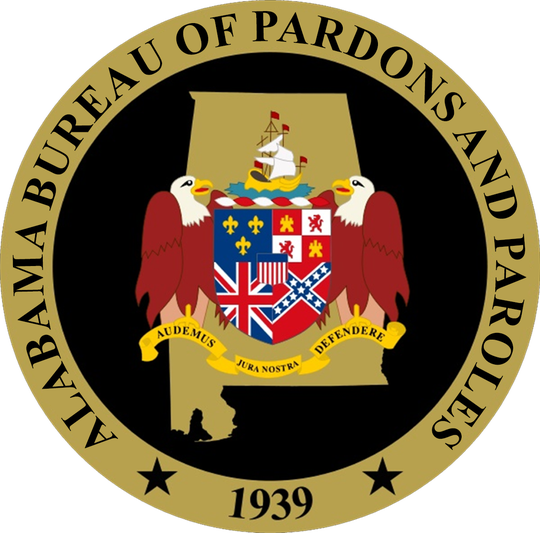 The seal of the Alabama Bureau of Pardons and Paroles.