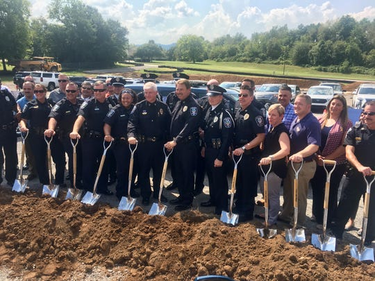 Brentwood Police Department staff celebrated their future headquarters at a groundbreaking ceremony on Wednesday.